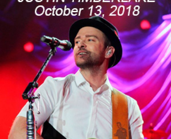 Justin Timberlake in Quebec October 13 2018
