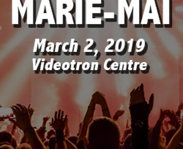 Marie-Mai in Quebec City on March 2, 2018