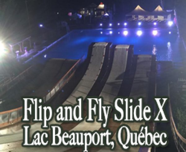 Slide X Lac Beauport Quebec