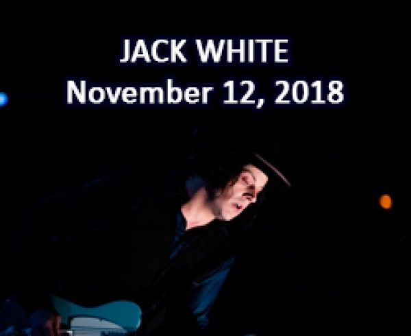 jack white in quebec city 2018